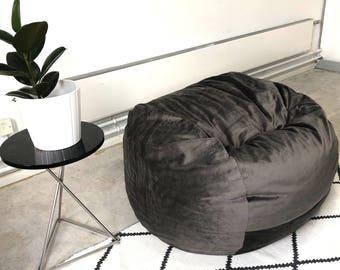 Velvet Bean Bag / Foam Bag