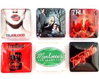 True Blood Magnets- Set of 6