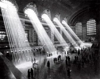 Art Print New York Grand Central Station 1920s. Print