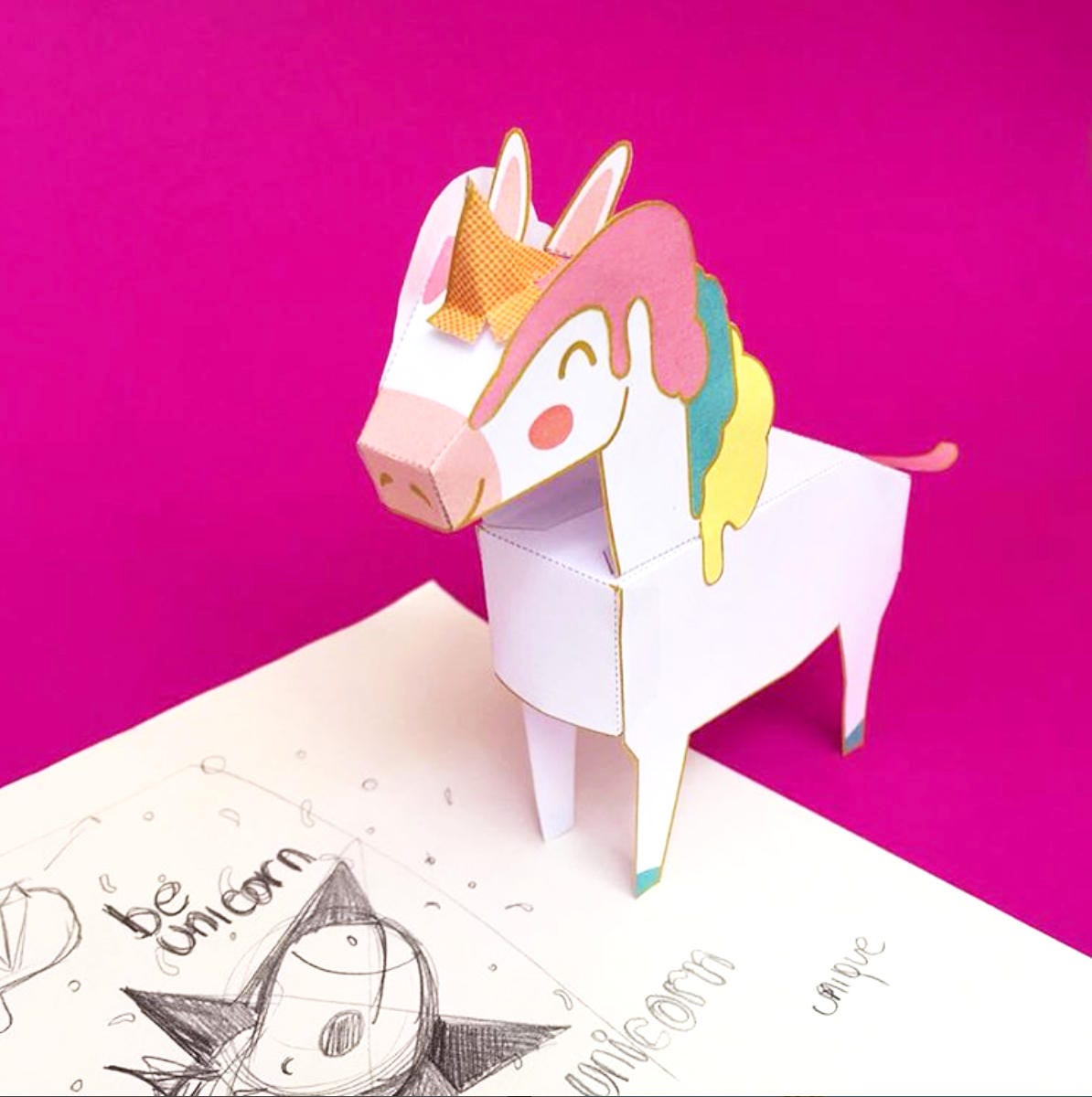 Kids Illustrator Flat Fashion Sketch Templates  My