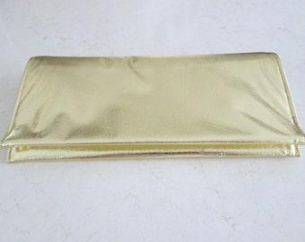 Gold Clutch Purse