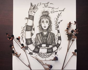 Goth Coloring Page
