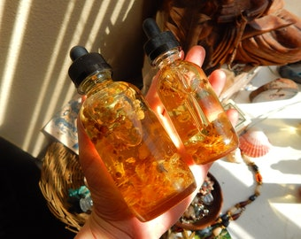 Chammomile and Calendula Body Oil