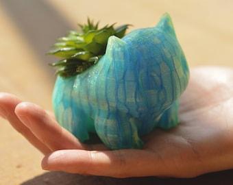 Pokemon Bulbasaur Planter - Aurora Blue