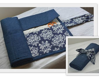 Custom made knitting needle case
