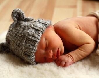 kids winter newborn baby hat baby bear photo prop or girl bear newborn photo prop for kids christmas
