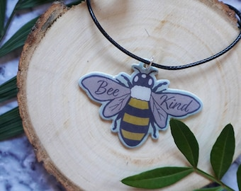 "Necklace ""Bee Kind"""