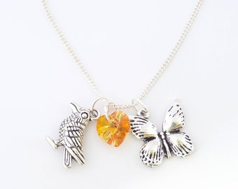 Chloe and Rachel. Life is Strange Before the Storm Necklace