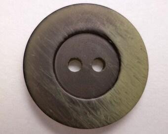 Black 13 buttons Green 20mm (2056) button