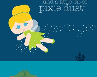 TINKERBELL - Fairy Tale Collection Print