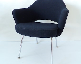 Authentic Executive Armchair By Eero Saarinen For Knoll U0026 De Coene, Early  1960s ON SALE