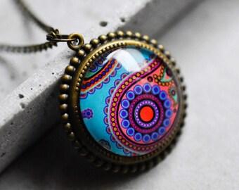 Journey of Senses II Vintage Necklace (VIK-129)