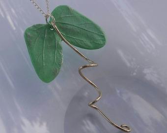 Morning Glory Seedling Necklace