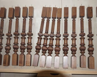 Carved Wood Balusters For Stairs
