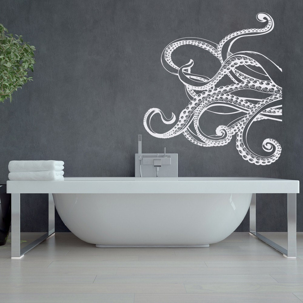 ?zoom : octopus tentacles wall decal - www.pureclipart.com