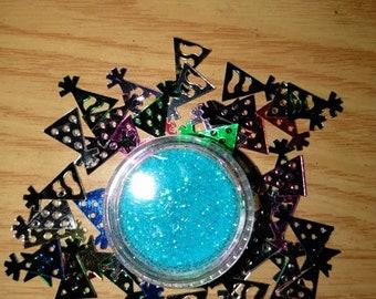 Sky Blue Glitter Eyeshadow
