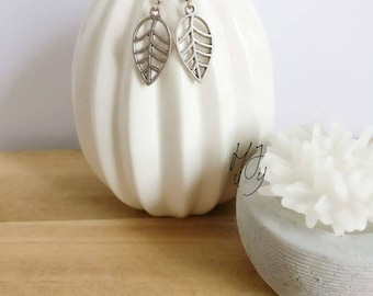 Oorbellen blaadje, oorbellen blad, oorbellen herfst, oorbellen leaf, yoga oorbellen