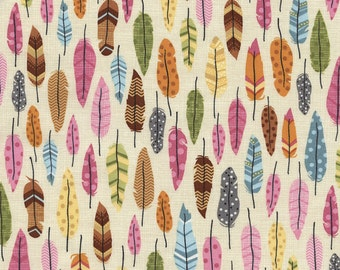 Feather Fabric, Feather Quilt Fabric, Timeless Treasures Fabric Fun C3585, 100% Cotton Yardage