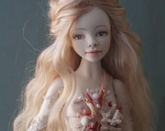 Aurelia ooak doll bjd doll flumo doll