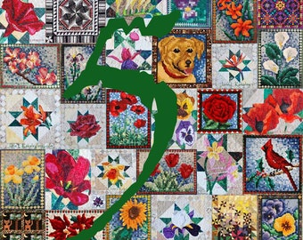 ANY 5 indvidual PDF Quilt Patterns