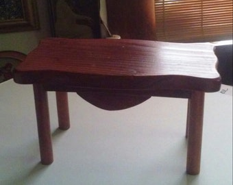 Vintage Wooden Doll Furniture Dining Table