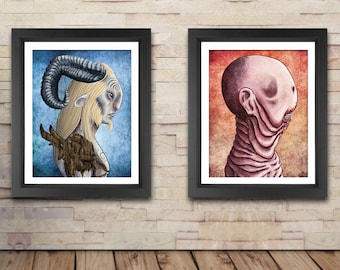 Pan's Labyrinth illustration double pack