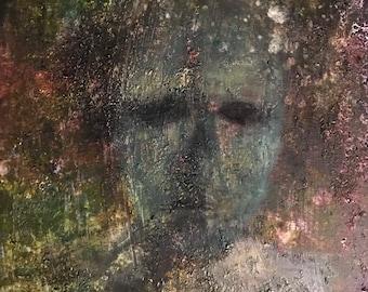 Despair - Acrylic on canvas 30/40cm