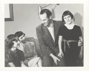 vintage photo 1954 Family Daddy's Little Girl