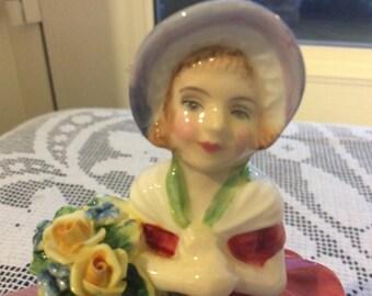 Royal Doulton Cissie Vintage Figurine HN 1809 Bone China