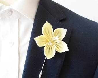 Primrose Yellow Lapel Pin