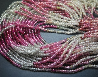 77 Carats,14 Inch,Super Finest Quality,Super--Natural MULTI SAPPHIRE Smooth Roundells,Size 4-4.5mm Aprx