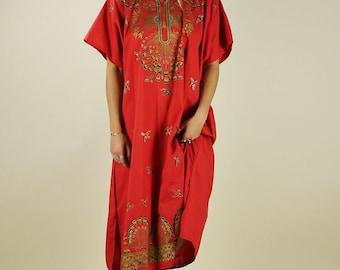 60's/70's Hippie Maxi Dress