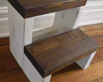 Childrens Step Stool Etsy