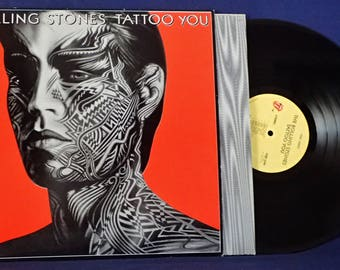 The Rolling Stones, Tattoo You - Vintage Vinyl Record