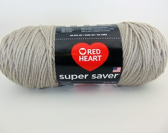 Oatmeal -  Red Heart Super Saver yarn worsted weight - 2057