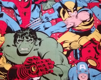 Super hero and Cotton, Fleece or Minky Weighted blanket large (38to40x70)