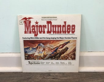 Major Dundee Motion Picture soundtrack vinyl record