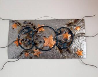 Galaxy (in metal wall sculptures)