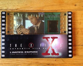 The X Files Limited Edition 35mm Film Cell & The X Files Magazine #2