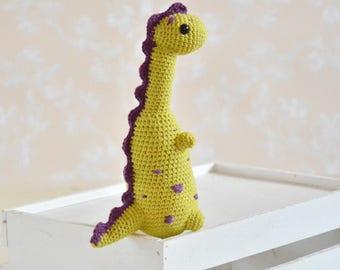 crochet dinosaur crochet dino amigurumi dinosaur handmade dinosaur plush dinosaur stuffed dinosaur crochet toys gift for boy birthday gift