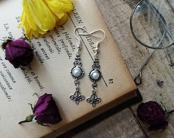 Victorian shell earrings