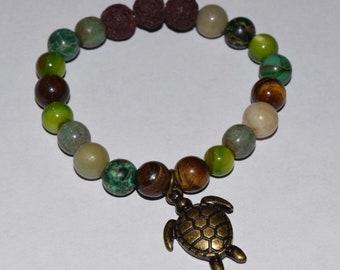 Fresh Water Turtle Diffuser Bracelet