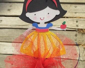 Adorable Snow White Princess Centerpiece Topper - Cake Topper