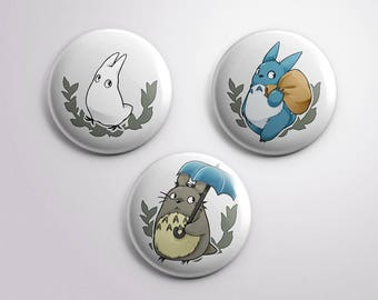 PRE-ORDERS My Neighbor Totoro 【BUTTON 38mm】