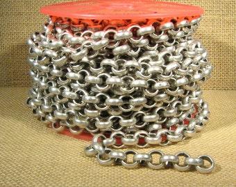 3 Feet 11mm Rolo Chain - CH115 - Antique Silver