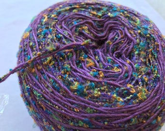 Blended Novelty Yarn created by Beyond Pretty Yarn