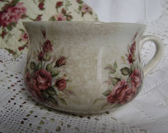 Portmeirion miniature chamber pot from the 1970s.