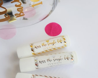 Bachelorette Party/Hen's Party Organic or Tinted Lip Balm - Thank You Gift