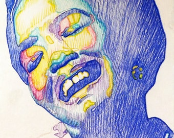 No Longer The Caged Bird: A Tribute to Maya Angelou, original and prints available