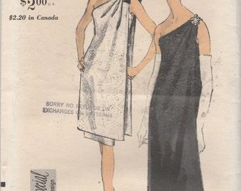 """Vogue Special Design 6596  Misses' Evening Dress Bust 32"""""""